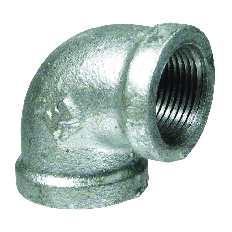 Commodity  GALL212 Galvanized 90 Degree Elbow, 2-1/2 Inch