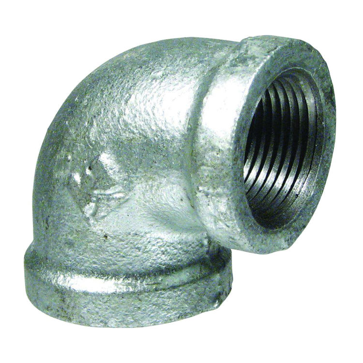 Commodity  GALL4 Galvanized 90 Degree Elbow, 4 Inch
