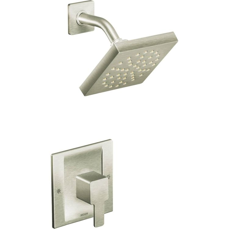 View 2 of Moen TS3715BN Moen TS3715BN 90-Degree Moentrol Shower Only Trim in Brushed Nickel