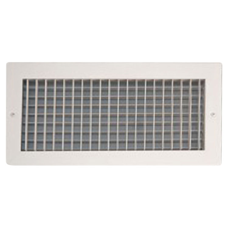 10X6 White Vent Cover (Stamped Steel One Piece Frame) – Shoemaker ...