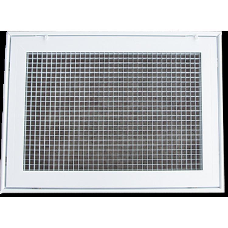 View 2 of Shoemaker 620FG1-18X14 Shoemaker 620FG1-18X14 Lattice Filter Grille - Soft White