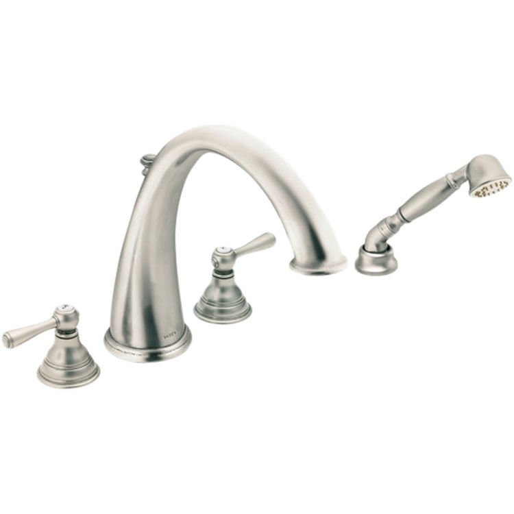 Moen T922an Kingsley Two Handle High Arc Roman Tub Faucet W