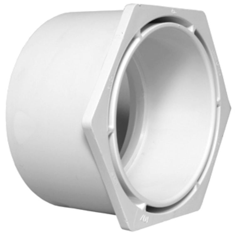 Commodity  PVCB112114 Schedule 40 PVC Bushing, 1-1/2 x 1-1/4 Inch