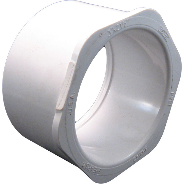 Commodity  PVCB3212 Schedule 40 PVC Bushing, 3 x 2-1/2 Inch