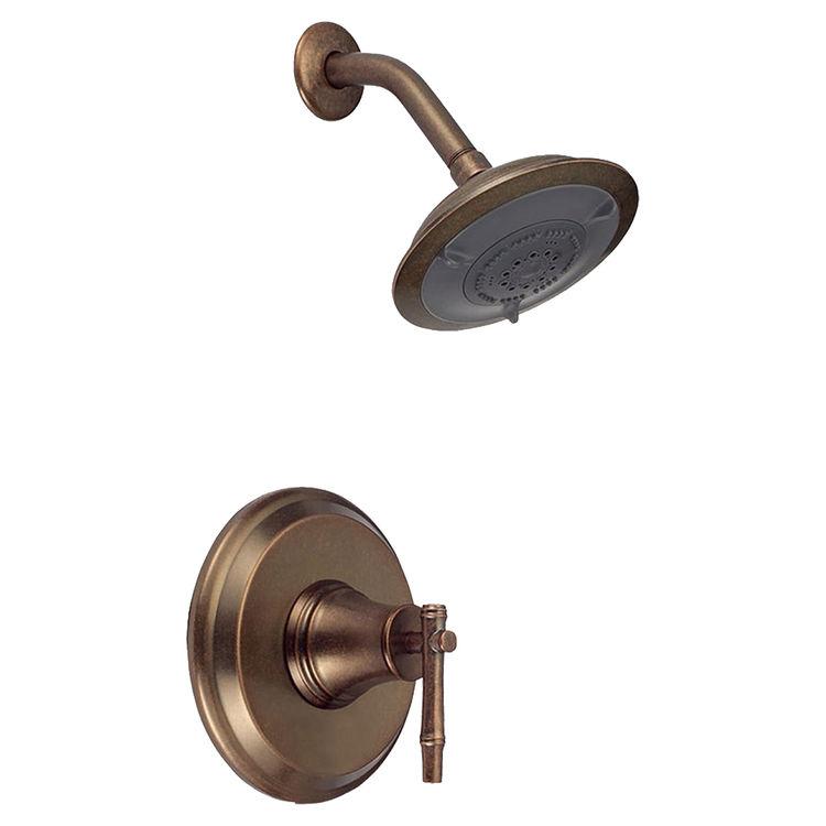 Danze D500545RBDT Danze D500545RBDT Distressed Bronze South Sea Pressure Balance Shower Trim