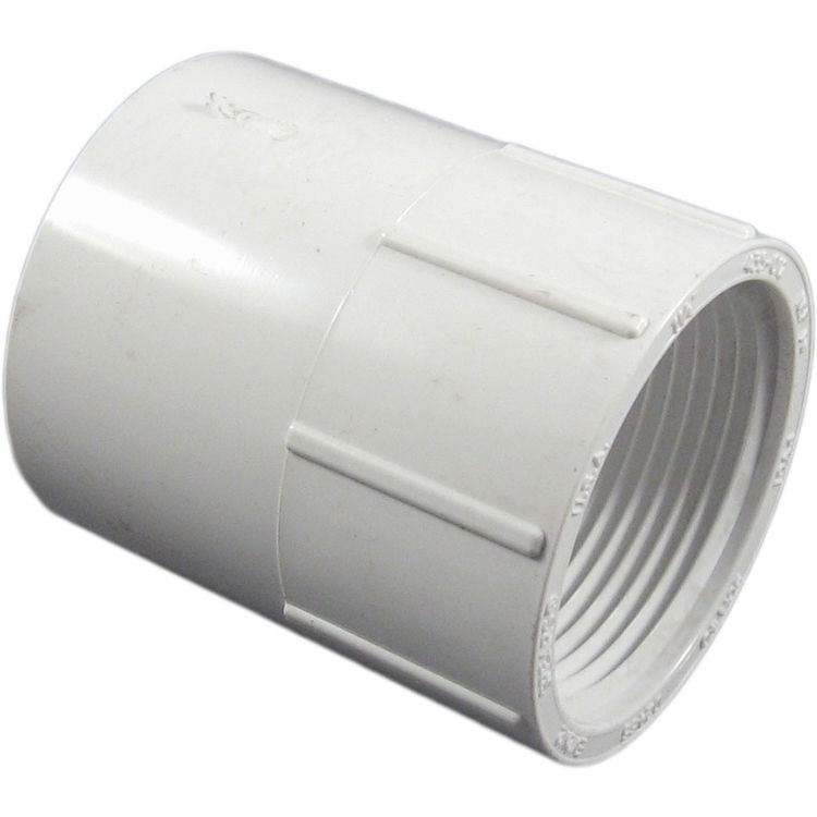 Commodity  PVCFE114 Schedule 40 PVC Female Adapter, 1-1/4 Inch
