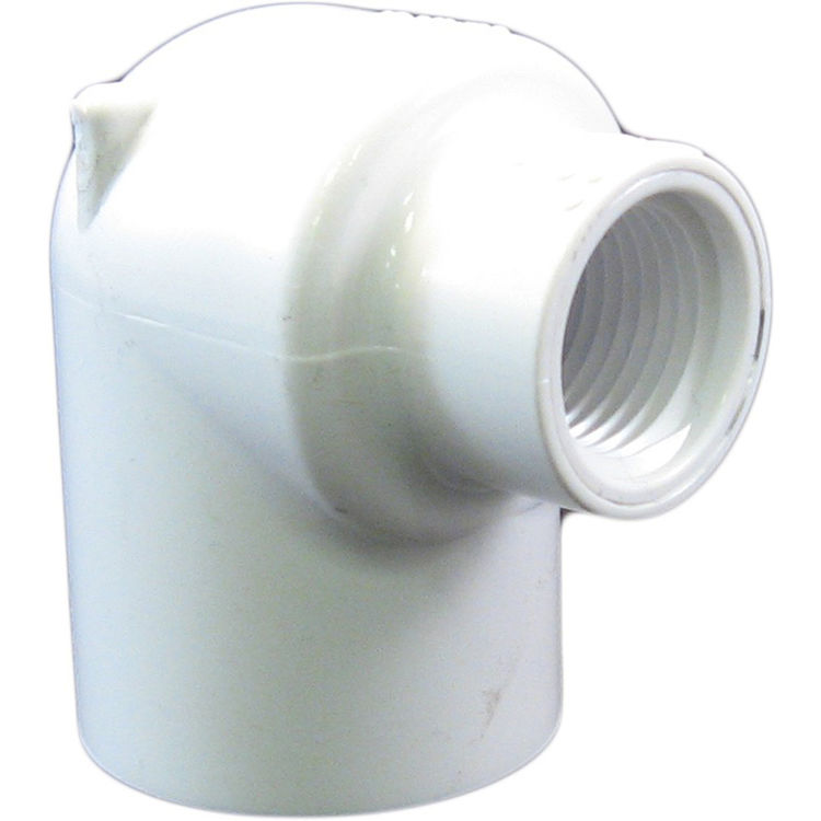 Commodity  Schedule 40 PVC 90 Degree 1 x 1/2 Inch Elbow