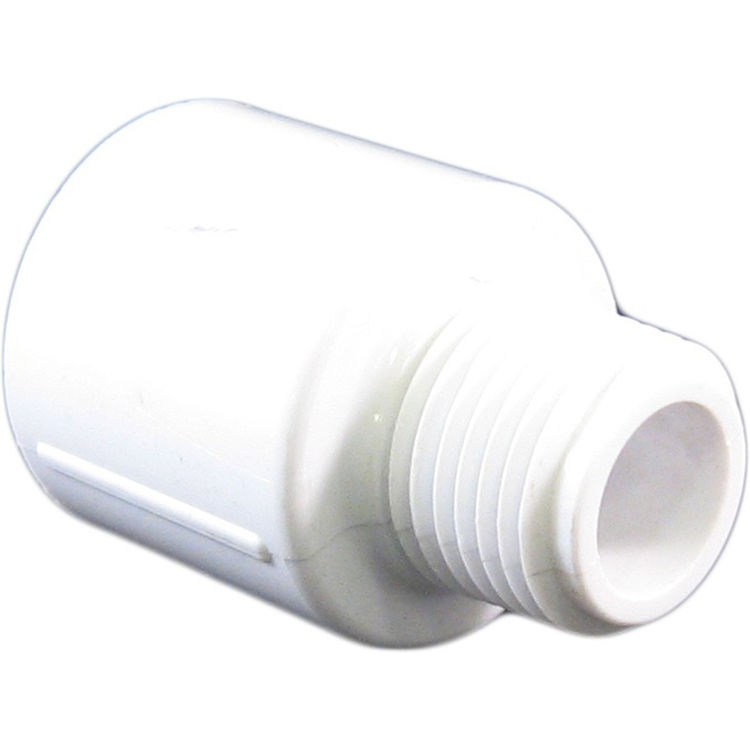 Commodity  Schedule 40 PVC 1/2 x 3/4 Inch Male Adapter