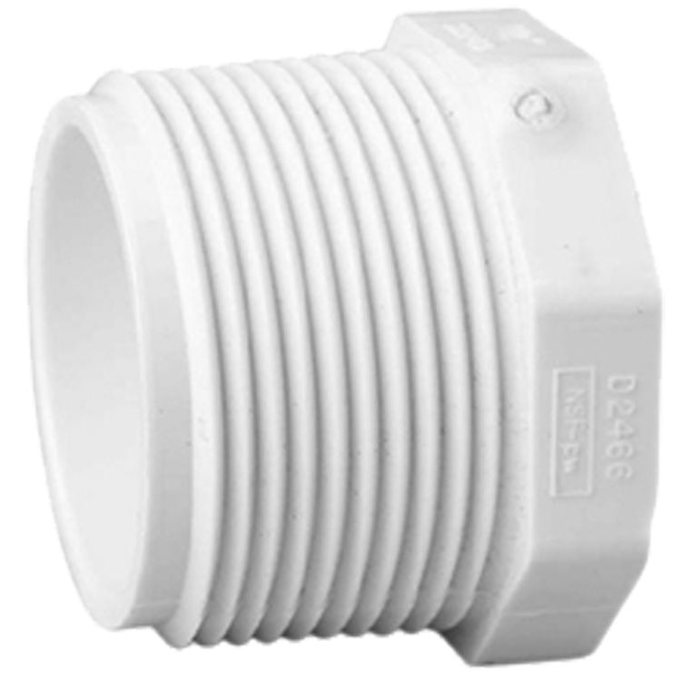 Commodity  Schedule 40 PVC 1 Inch Threaded Plug