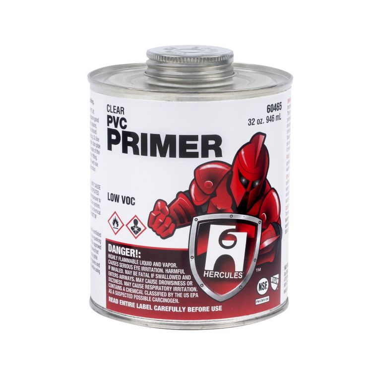 Commodity   1/4 Pint Clear Pvc Primer