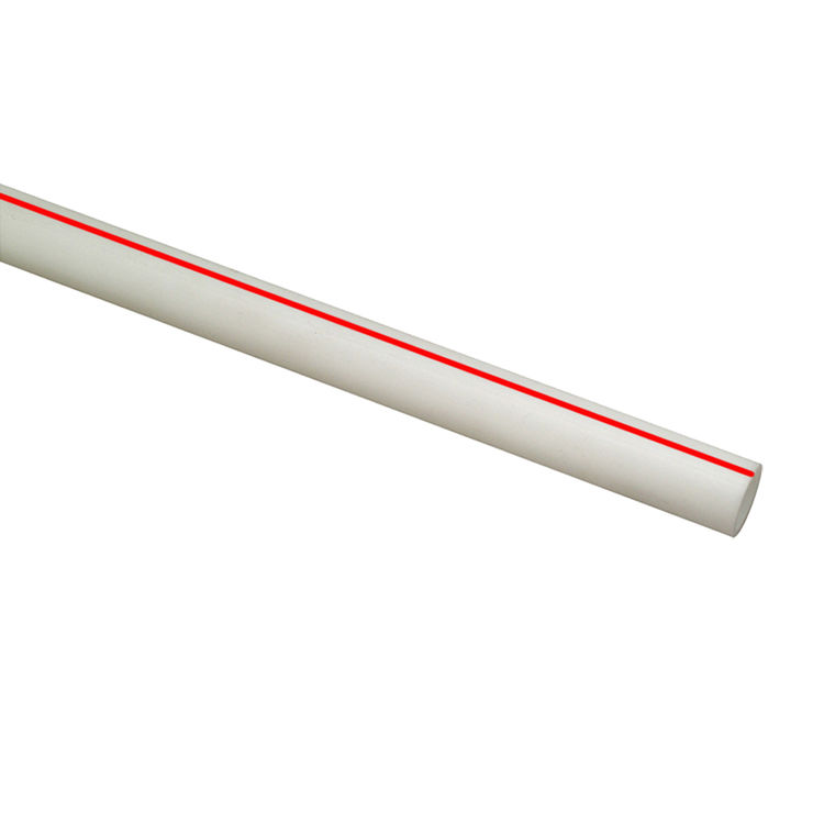 Heatlink 21205 HEATLINK 21205 1/2 TYPE A PEX PIPE WHITE 20' STICK - RED STRIPE