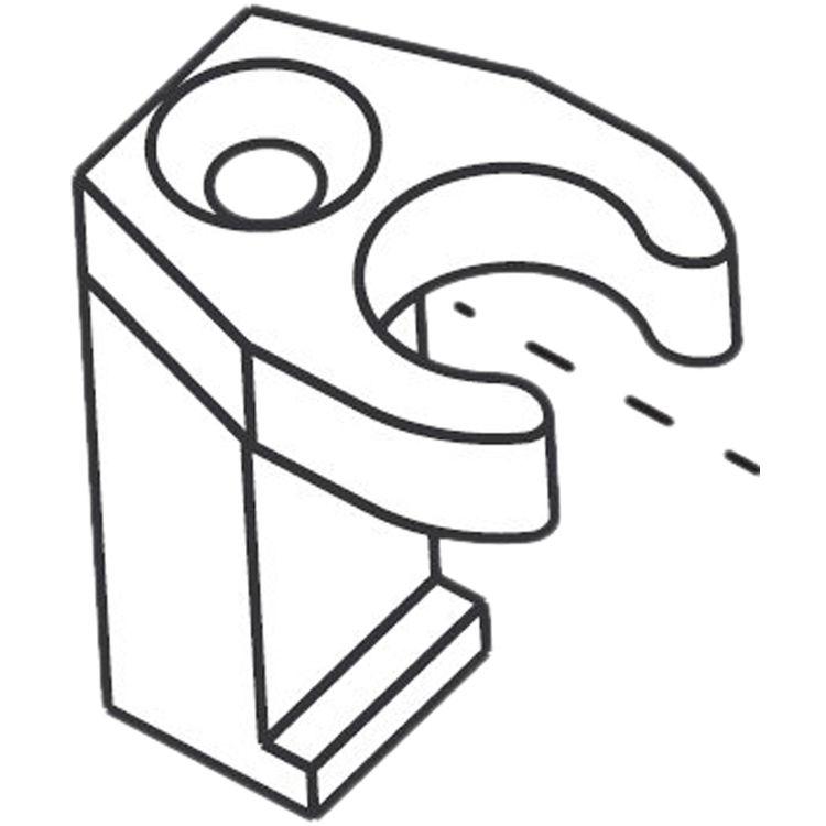 Moen 104225 Moen 104225 Part Lift Rod Guide Asceri Lavatory