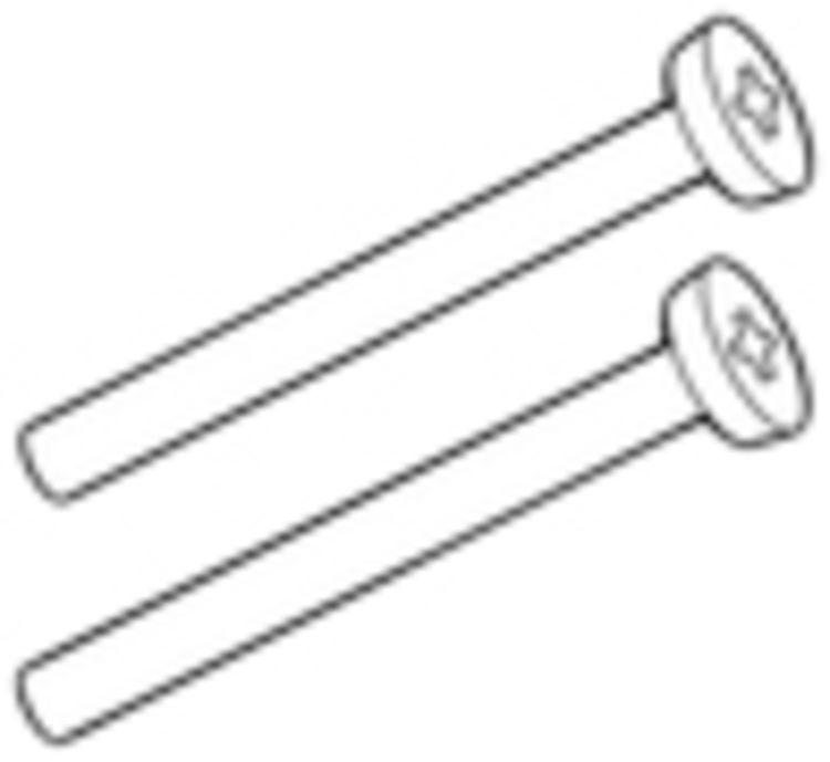 Moen 90478P Moen 90478P Screw Kit, Polished Brass
