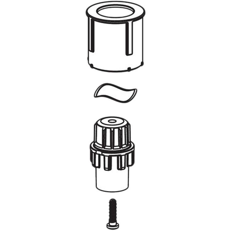Moen 100115 Moen 100115 Part Handle Adapter Kit Villeta Widespread