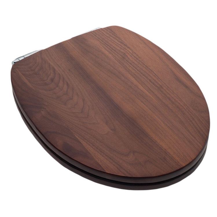 Miraculous Jones Stephens C2B1Es19Ch Black Walnut Ez Close Elongated Wood Toilet Seat Creativecarmelina Interior Chair Design Creativecarmelinacom