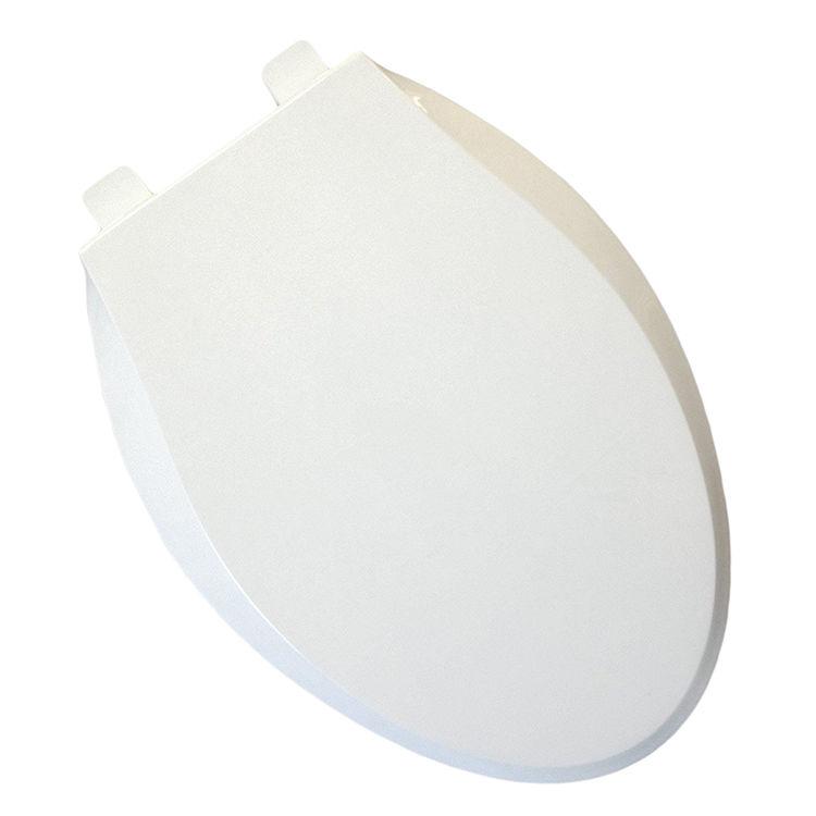 Jones Stephens C8019S00 Jones Stephens C8019S00 White - Ez Close Elongated Plastic Toilet Seat