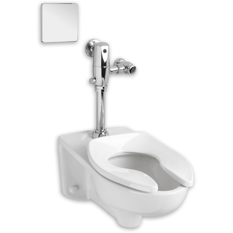 American Standard 3351.511.020 American Standard 3351.511.020 White Afwall Selectronic Valve Bowl Toilet