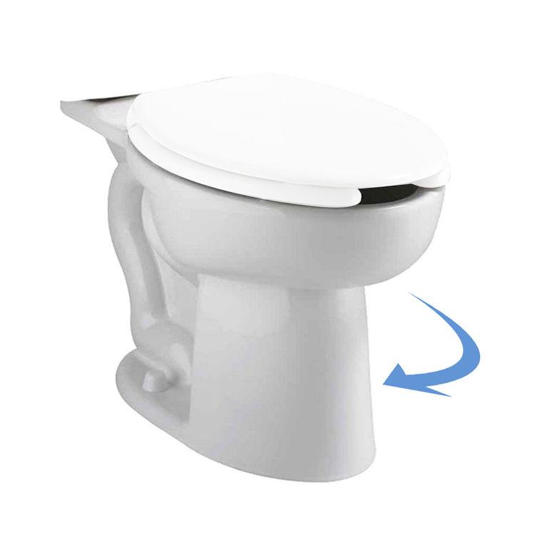 American Standard 3481.001.020 American Standard 3481.001.020 Cadet Elongated Toilet Bowl, White