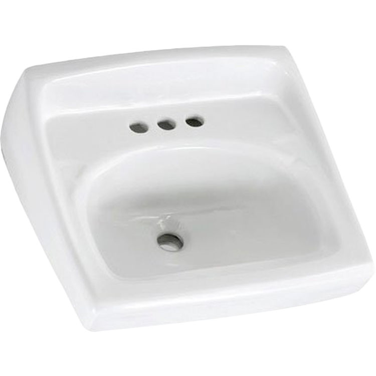 American Standard 0356.915.020 American Standard 0356.915.020 Lucerne Wall-Hung Sink less Overflow, White