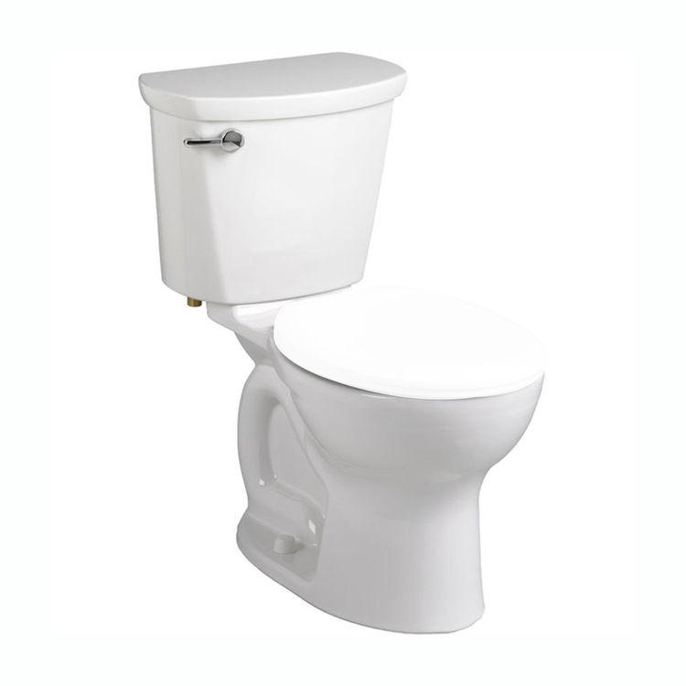 View 2 of American Standard 215DA.004.020 American Standard 215DA.004 White Cadet Round Two Piece Toilet