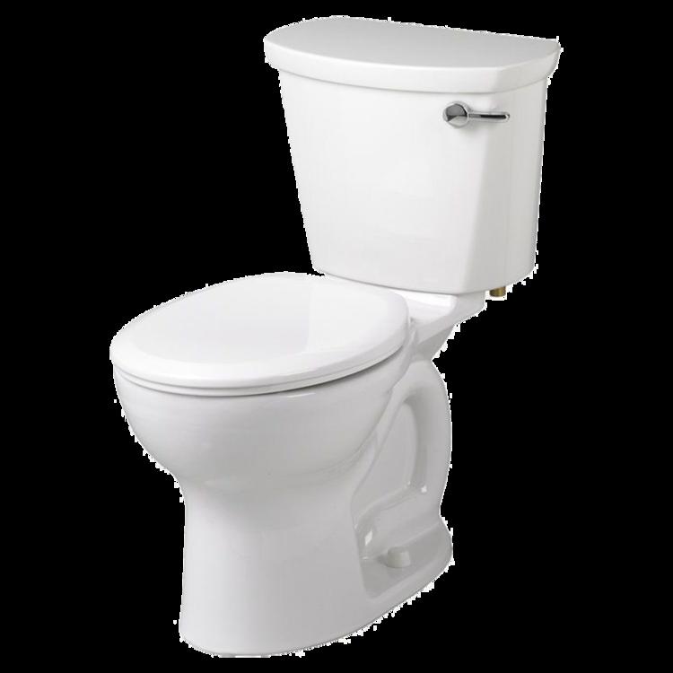 View 3 of American Standard 215DA.004.020 American Standard 215DA.004 White Cadet Round Two Piece Toilet