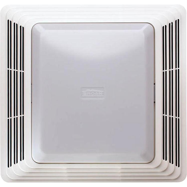 broan bp91 bathroom exhaust fan grille cover w 100w light
