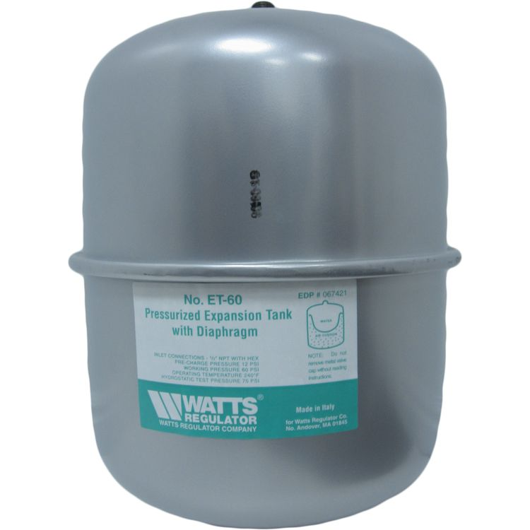 Watts EXT-60 Watts ET-60 6.6 Gallon Potable Water Expansion Tank