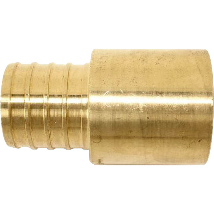 1 Inch PEX to Copper Male Sweat Adapter, Brass Construction