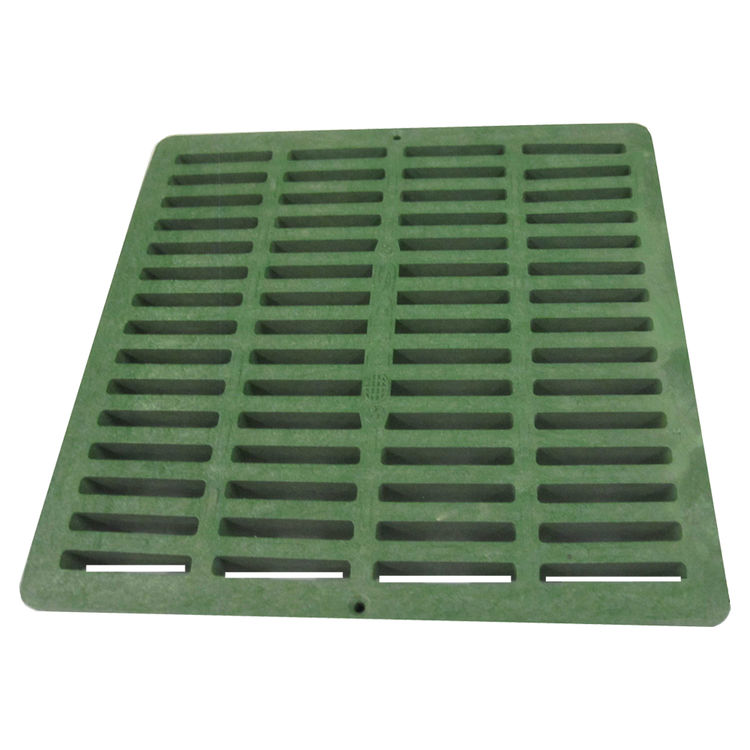 1212 NDS 1212 Green 12-inch Square Grate