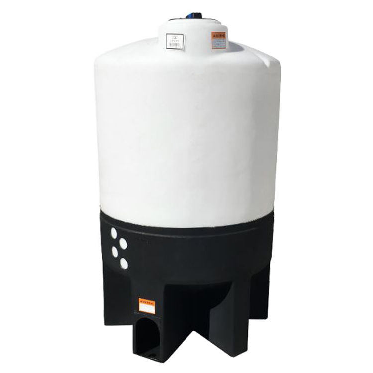 Norwesco Fluid 62441 NORWESCO 62441 310 GALLON CONE BOTTOM TANK WHITE - WITH STAND