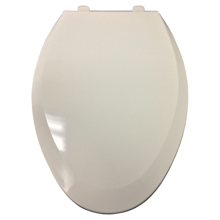 View 2 of Kohler  KOHLER K-4652-96 *LUSTRA* ELONGATED TOILET SEAT BISCUIT QUICK-RELEASE HINGES QUICK-ATTACH