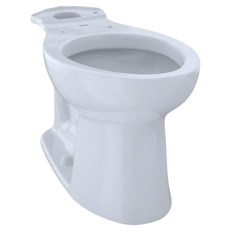 Toto Elongated Toilet Seat.Toto Entrada Universal Height Elongated Toilet Bowl Cotton White C244ef 01