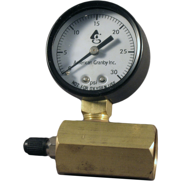 American Granby  30# Air Test Gauge with 3/4