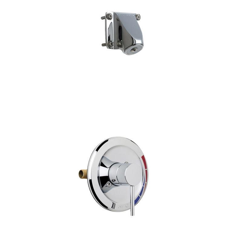 Chicago Faucet SH-PB1-05-000 Chicago SH-PB1-05-000 Chrome Shower Only Trim with Valve