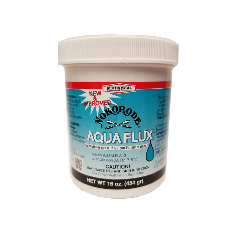 View 2 of Rectorseal 74047 16 Ounce Aqua Flux Water Soluable Type
