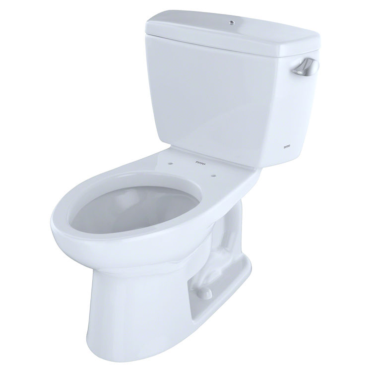 TOTO Eco Drake Two-Piece Elongated 1.28 GPF ADA Compliant Toilet ...