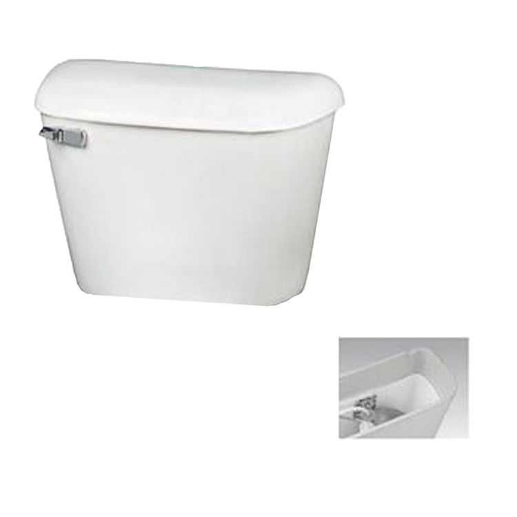 Mansfield Alto White Lined Toilet Tank Tank Only Model