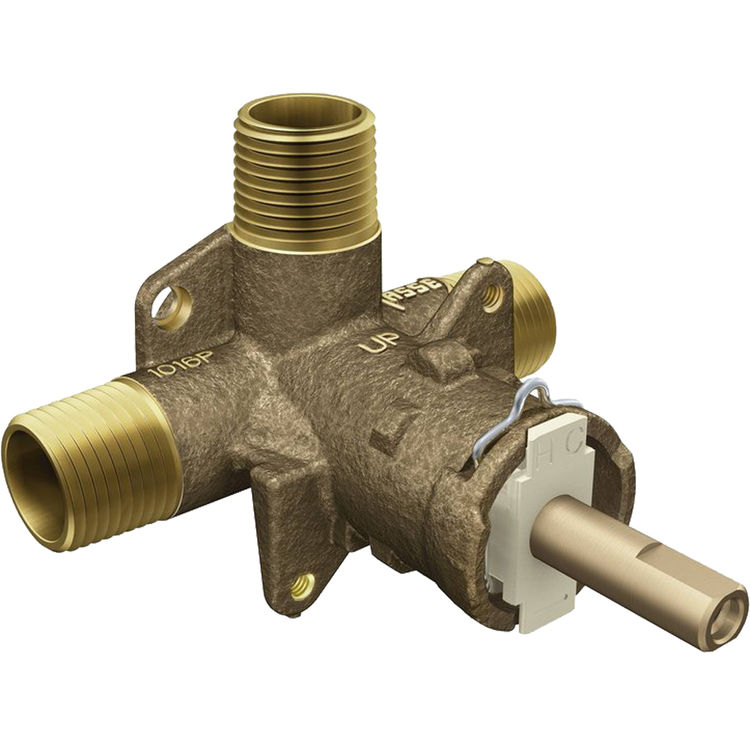 MOEN Brass Rough-In Posi-Temp Pressure-Balancing Cycling Tub and Shower Valve