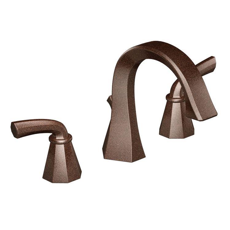 Moen TS448ORB Moen TS448ORB Two Handle High Arc Bathroom Faucet