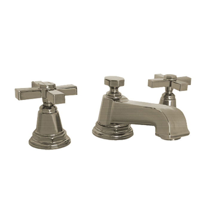 Marvelous Kohler K 13132 3A Bn Pinstripe Brushed Nickel Widespread Bathroom Faucet Interior Design Ideas Gresisoteloinfo