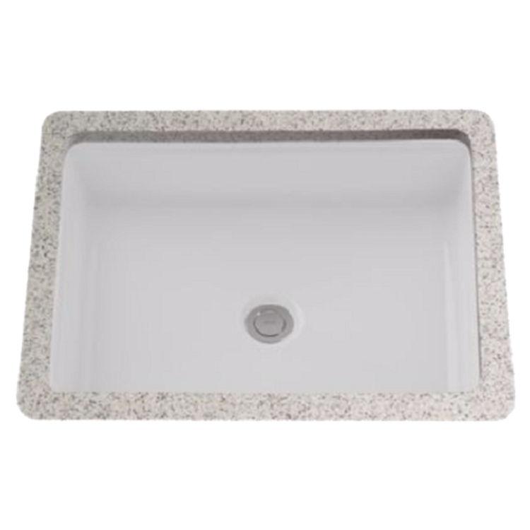 Toto LT221#01 Cotton White Rectangular Undermount Lavatory Sink