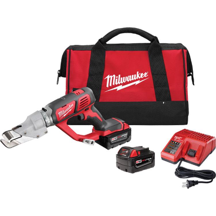 View 2 of Milwaukee 2637-22 Milwaukee 2637-22 M18 18 Gauge Single Cut Shear Kit