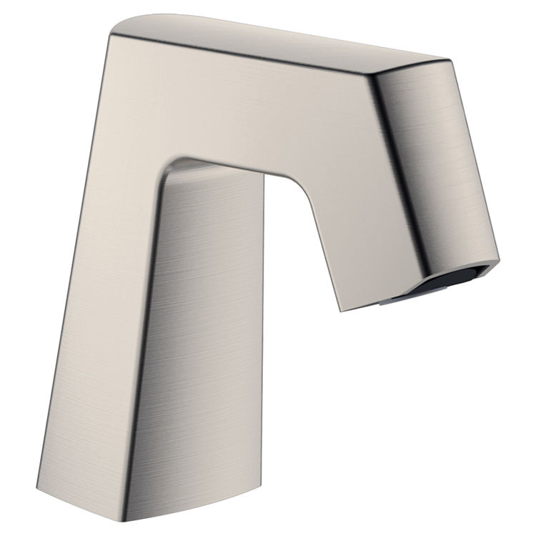 Chicago Faucet EQ-B11A-KJKABBN Chicago Faucets EQ-B11A-KJKABBN EQ BRUSHED NICKEL 243.145.AB.1 0.5 GPM (1.9 L/min) Non-Aerating Spray Cache Outlet EQ Angular Electronic Integral Spout Assembly