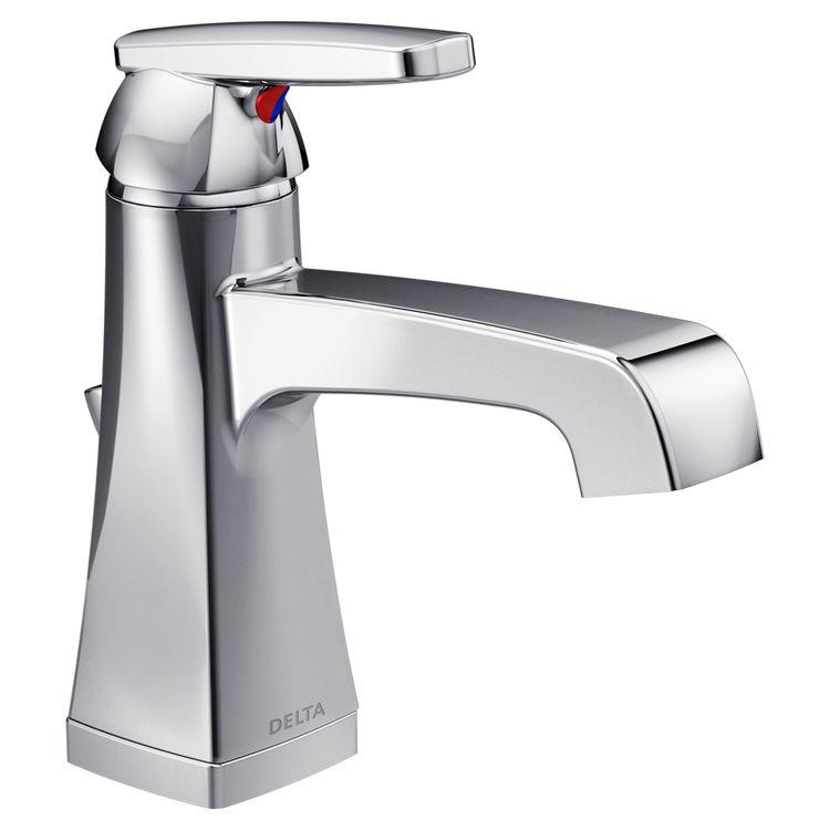 View 2 of Delta 564-MPU-DST Delta 564-MPU-DST Chrome Ashlyn Single Handle Lavatory Faucet