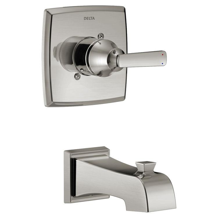 Delta T14264-SSLHD Delta T14264-SSLHD Stainless Steel Ashlyn 14 Series Shower Only Trim
