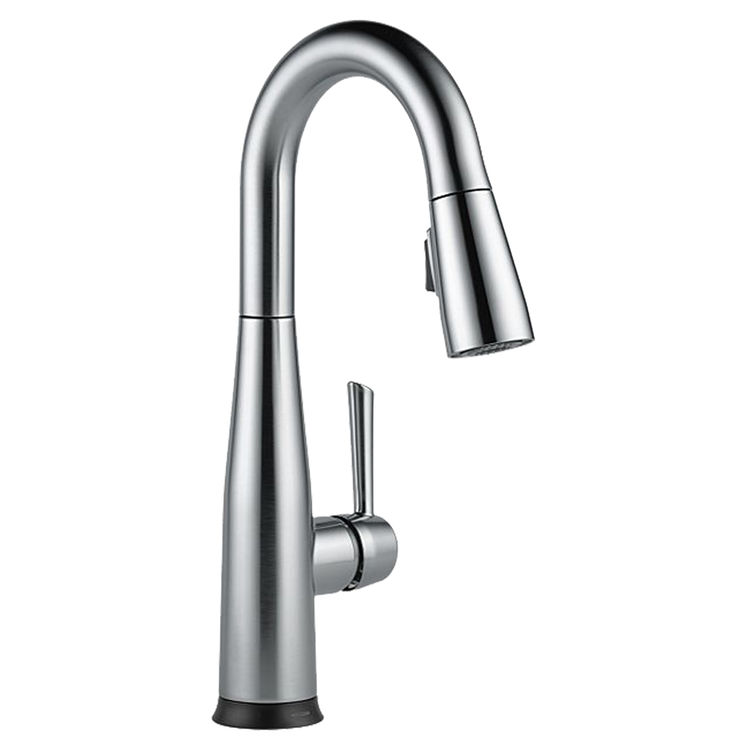 Delta 9913T-DST Delta 9913T-DST Chrome Single Handle Pulldown Bar Faucet