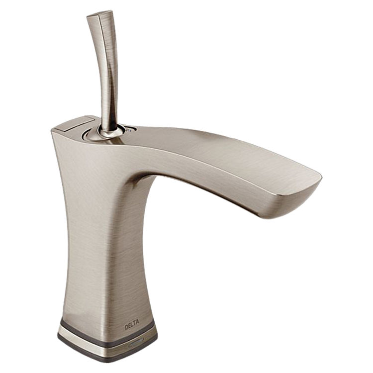 Delta 552TLF-SS Delta 552TLF-SS Stainless Single Handle Lavatory Faucet