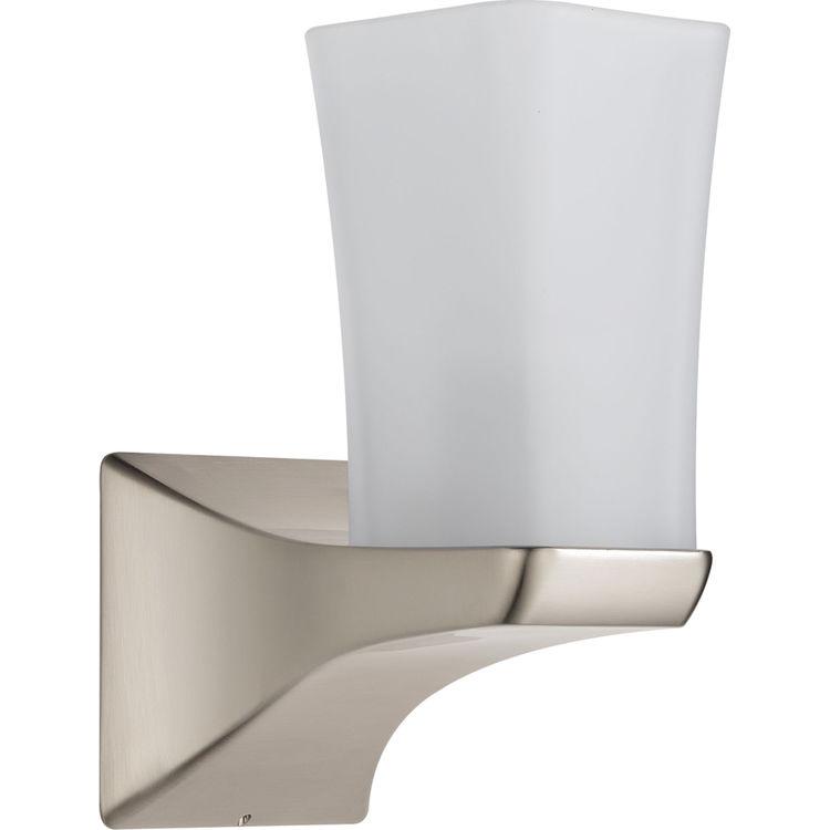 Delta 75270-SS Delta 75270-SS Stainless Single Globe Bath Light
