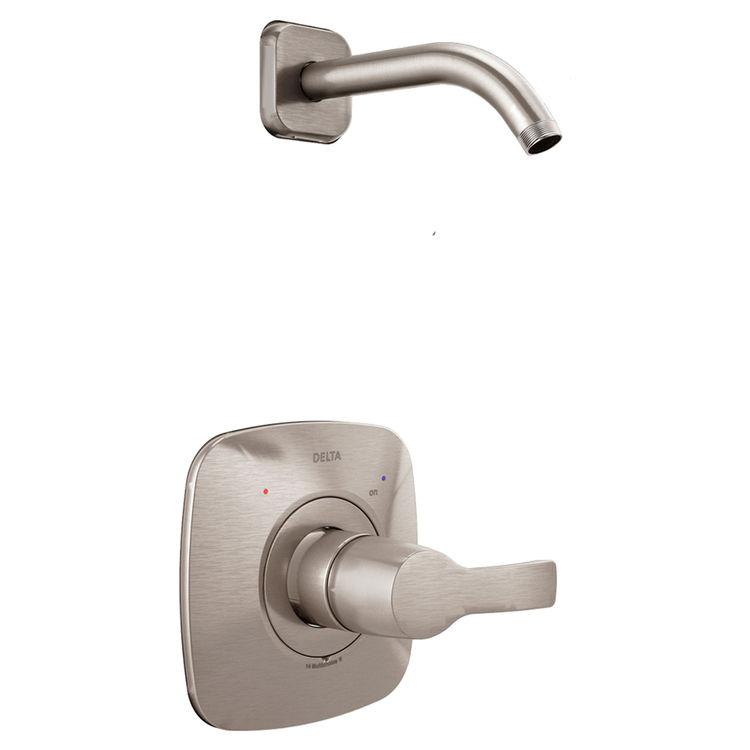 Delta T14252-SSLHD Delta T14252-SSLHD Stainless 14 Series Shower Only Trim