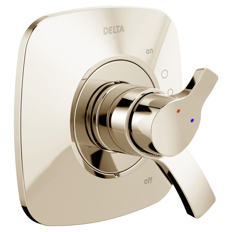 Delta T17052-PN Delta T17052-PN Polished Nickel 17 Series Valve Only Trim